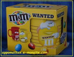 Mug M&m's jaune wanted