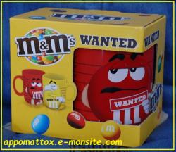 Mug M&m's Rouge wanted