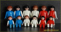 Playmobil bleu blanc rouge 6