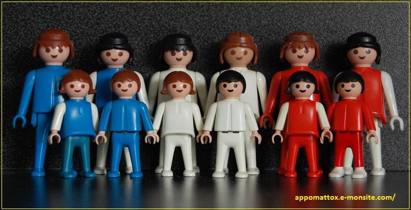 Playmobil bleu blanc rouge 7