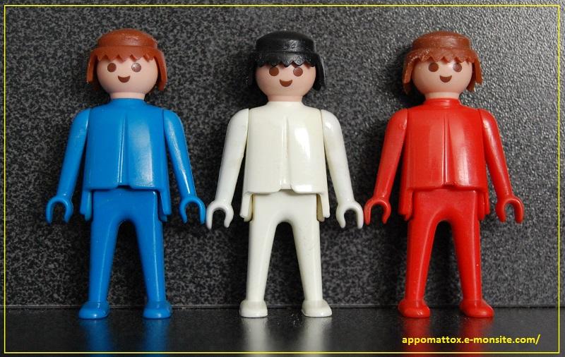 Playmobil bleu blanc rouge 9